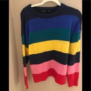 Nasty Gal striped sweater NEW W TAGS